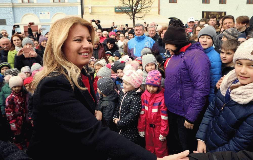 Prezidentka navštívila Rožňavu a Betliar