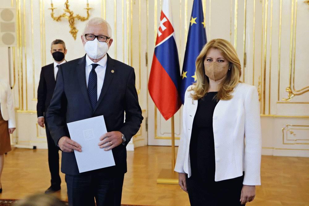 Prezidentka vymenovala predsedu Slovenskej akadémie vied