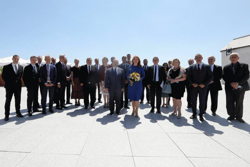 President Meets Ambassadors of EU Countries