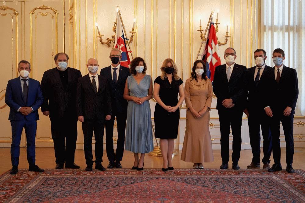 Prezidentka sa stretla so slovenskými europoslancami