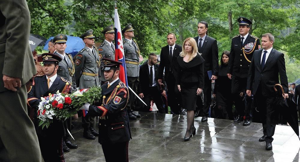 Prezidentka Zuzana Čaputová vystúpila s príhovorom počas 14.ročníka Stretnutia generácií na Kališti