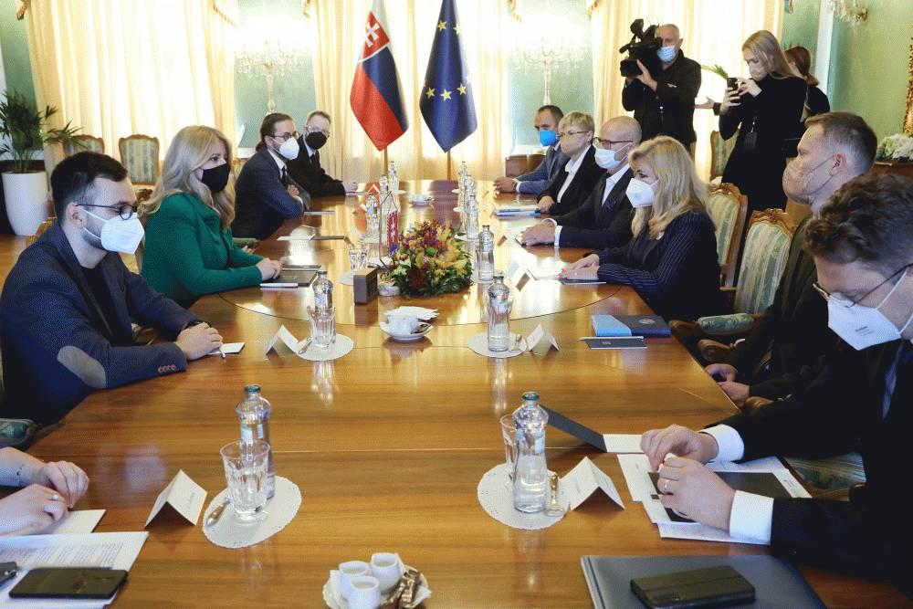 Prezidentka prijala zástupcov zdravotníckych organizácií