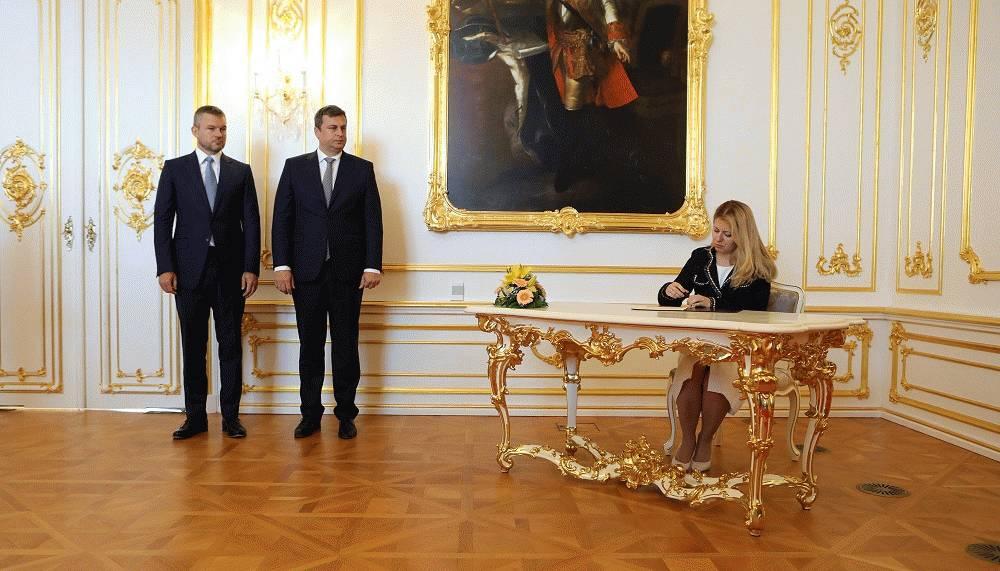 Prihlásenie sa najvyšších ústavných činiteľov k spoločnému vyhláseniu ústavných činiteľov k prioritám členstva Slovenskej republiky v Európskej únii a Severoatlantickej aliancii