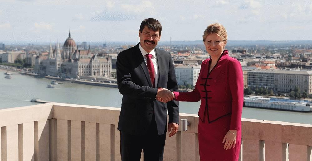 Prezidentka SR Zuzana Čaputová na zahraničnej návšteve v Maďarsku: spolupráca v rámci V4 nesmie byť len o strážení regionálnych záujmov