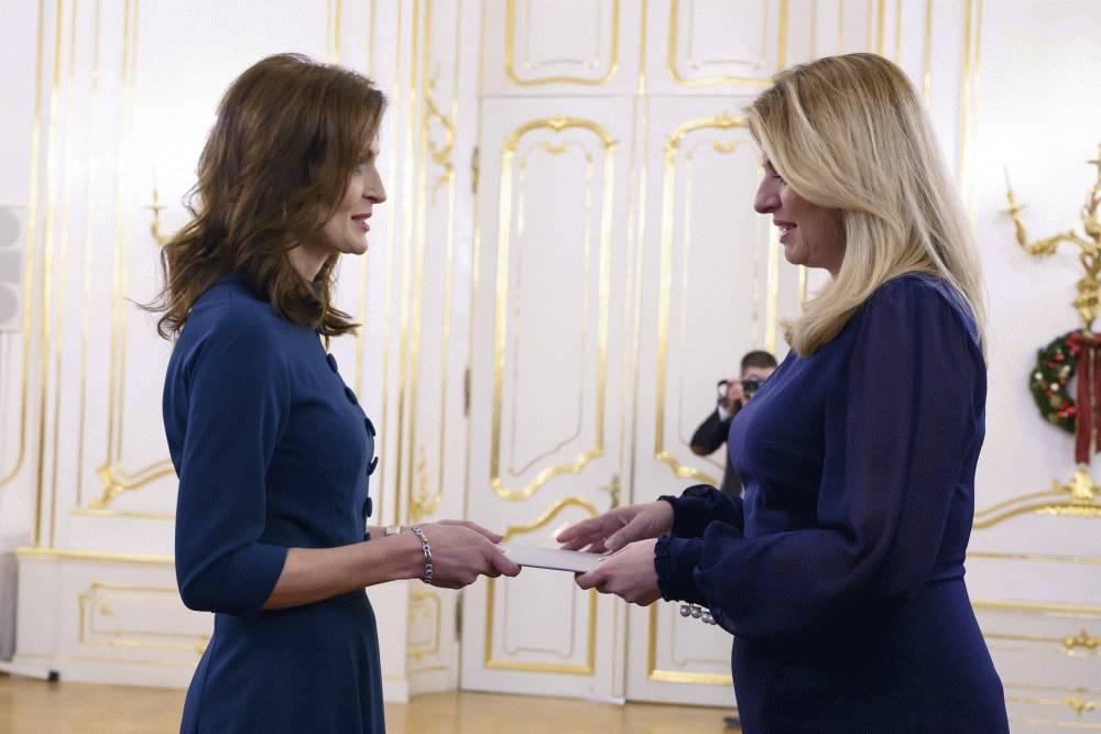 Prezidentka prijala demisiu ministerky zdravotníctva