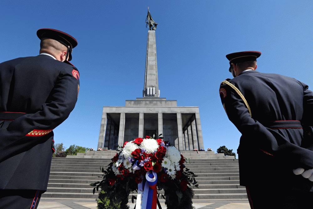 Prezidentka si na Slavíne pripomenula Deň víťazstva nad fašizmom