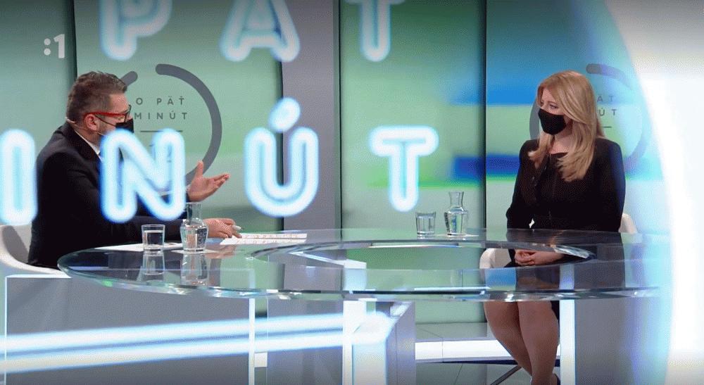 Prezidentka v RTVS: Skutočné riešenie vždy vzíde z diskusie