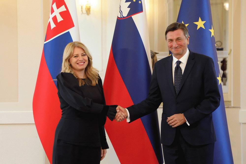 Prezidentka v Ľubľane: Slovinsko nám môže byť v mnohom inšpiráciou