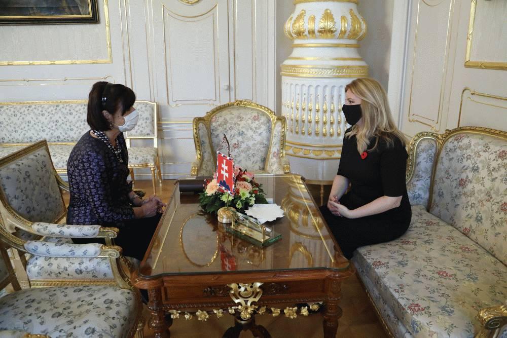 Prezidentka prijala Júliu Horákovú. Jej rozhodnutie rešpektuje