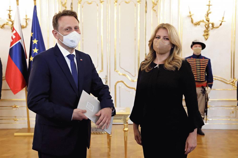 Prezidentka vymenovala nového ministra pôdohospodárstva Samuela Vlčana