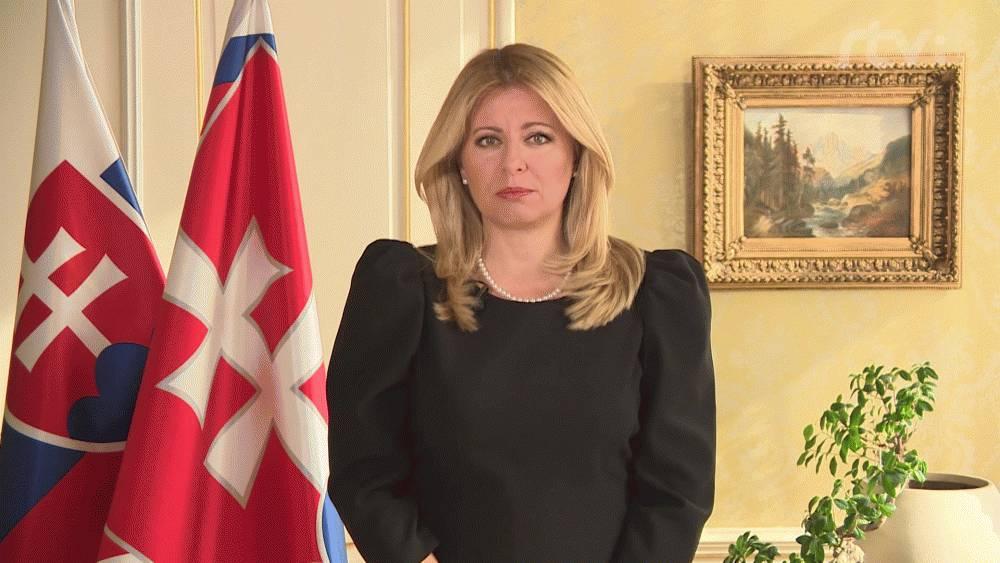 Prezidentka vystúpila v RTVS s príhovorom pred voľbami do NR SR