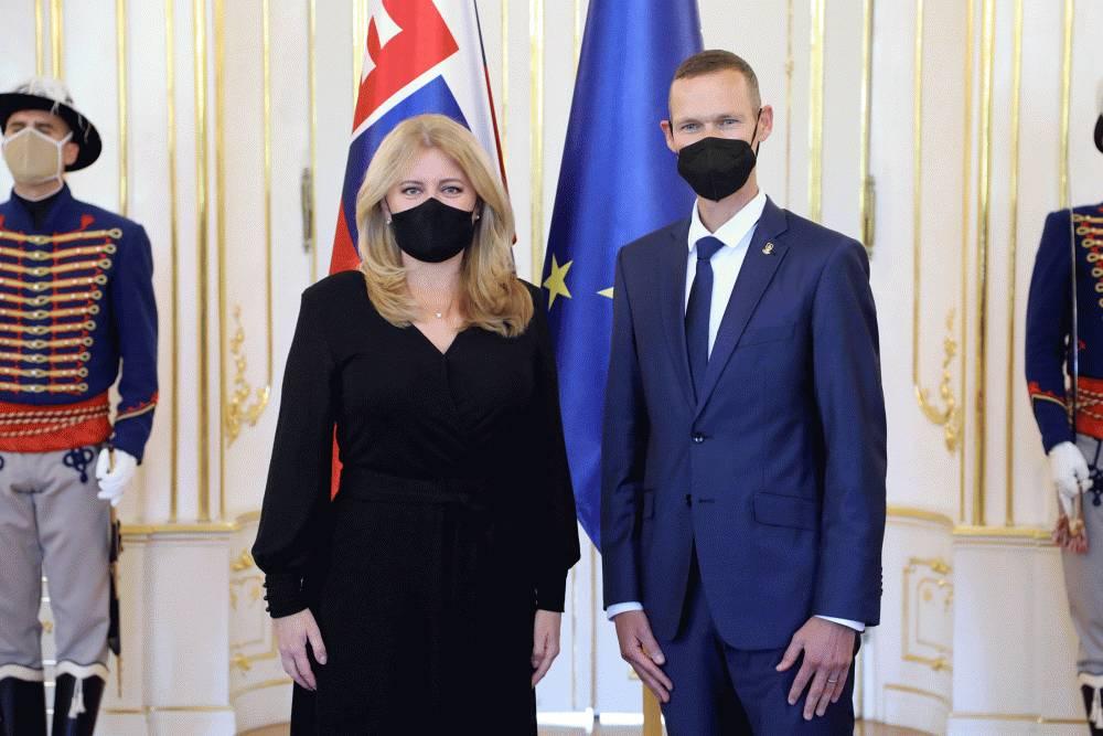 Prezidentka sa poďakovala Matejovi Tóthovi za reprezentáciu Slovenska