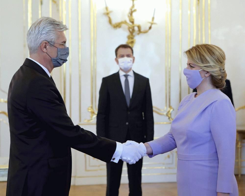 Prezidentka vymenovala Ivana Korčoka za ministra zahraničných vecí