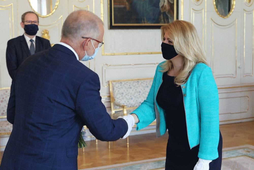 Prezidentka prijala vedúceho Zastúpenia EK Ladislava Mika