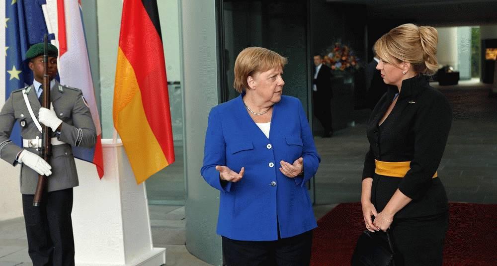 Prezidentka po stretnutí s predstaviteľmi Nemecka: V politike zastávame spoločné hodnoty