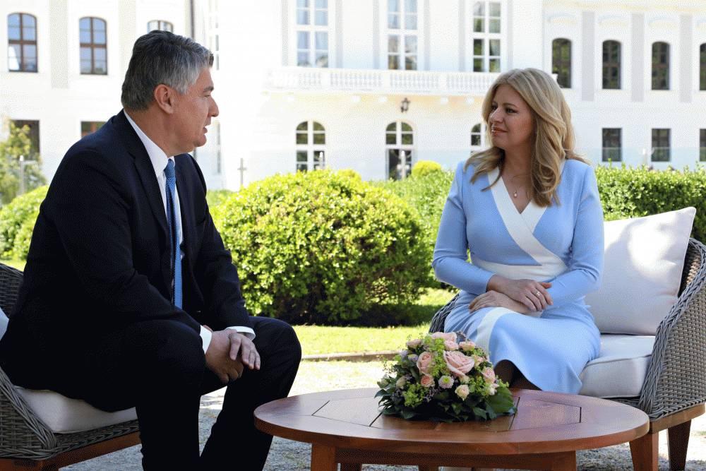 Prezidentka sa stretla s poľským a chorvátskym prezidentom