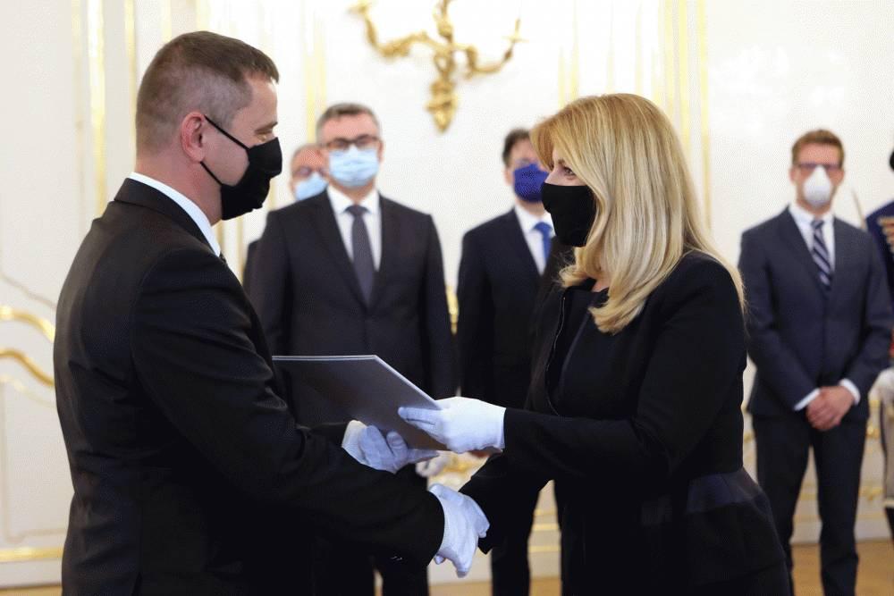 Prezidentka vymenovala za sudcu Ústavného súdu SR Roberta Šorla