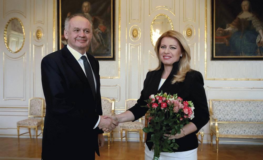 Prezidentka prijala predsedov strán možnej novej koalície