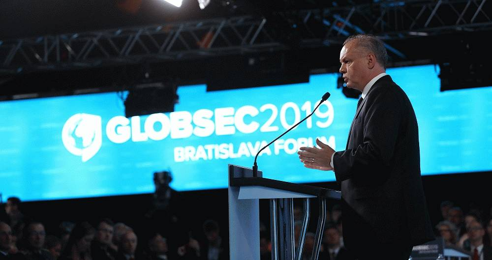 Kiska in his last address at Globsec: We need a strong and united Europe