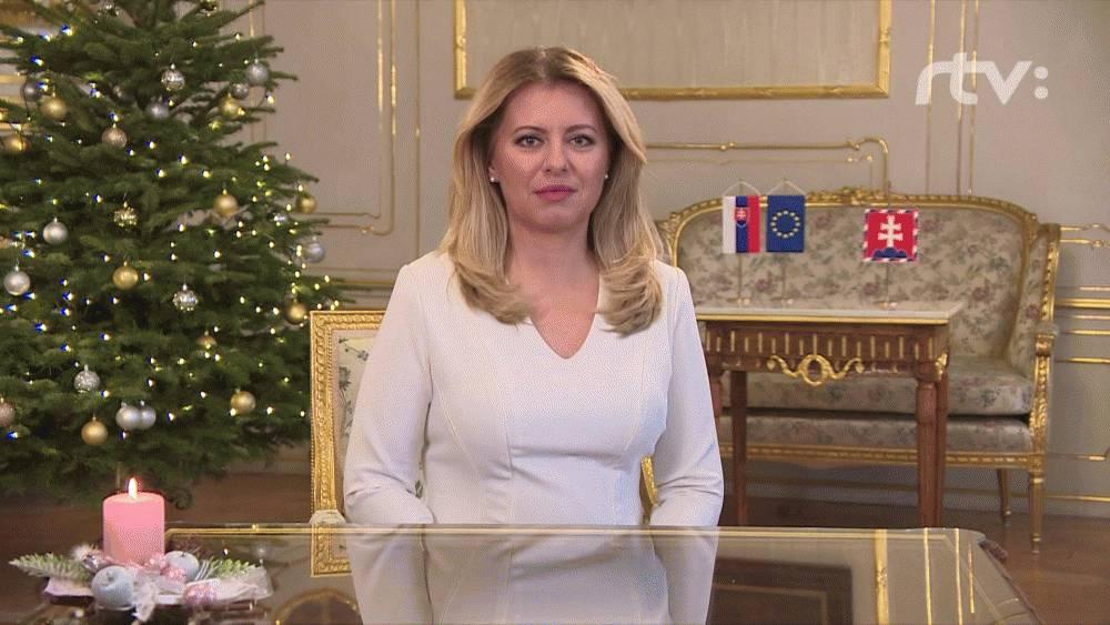 Novoročný príhovor prezidentky