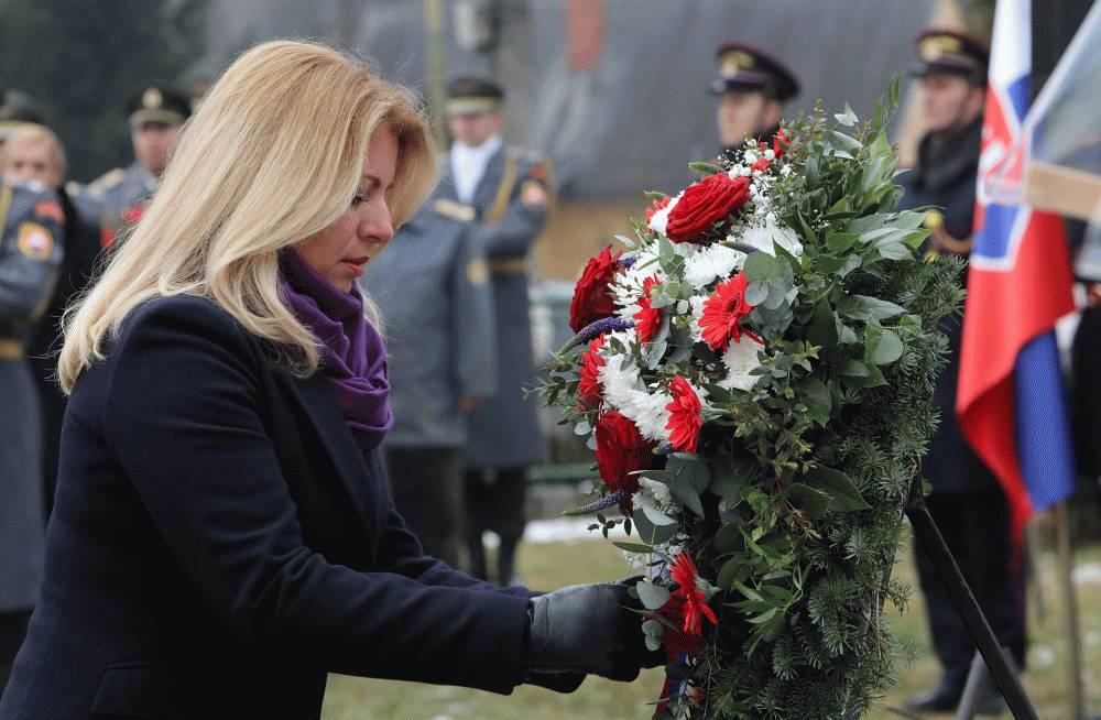 Prezidentka si pripomenula výročie tragédie v Ostrom Grúni a Kľaku
