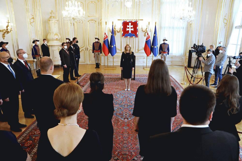 Prezidentka vymenovala 10 nových sudkýň a sudcov