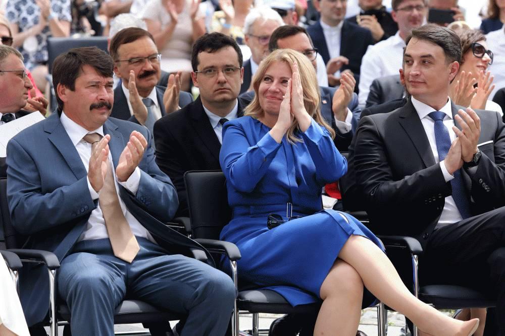 Prezidentka v Borši: Minulosť nás nemusí rozdeľovať, ale spájať