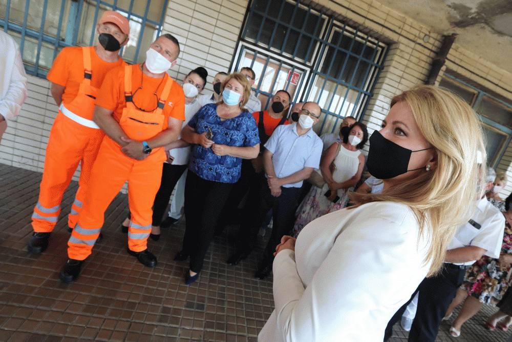 V Čiernej nad Tisou sa prezidentka zaujímala o sociálnu situáciu