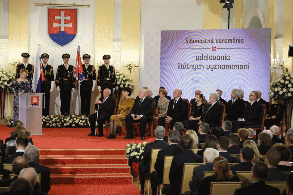 The president has conferred state honours on 20 personalities
