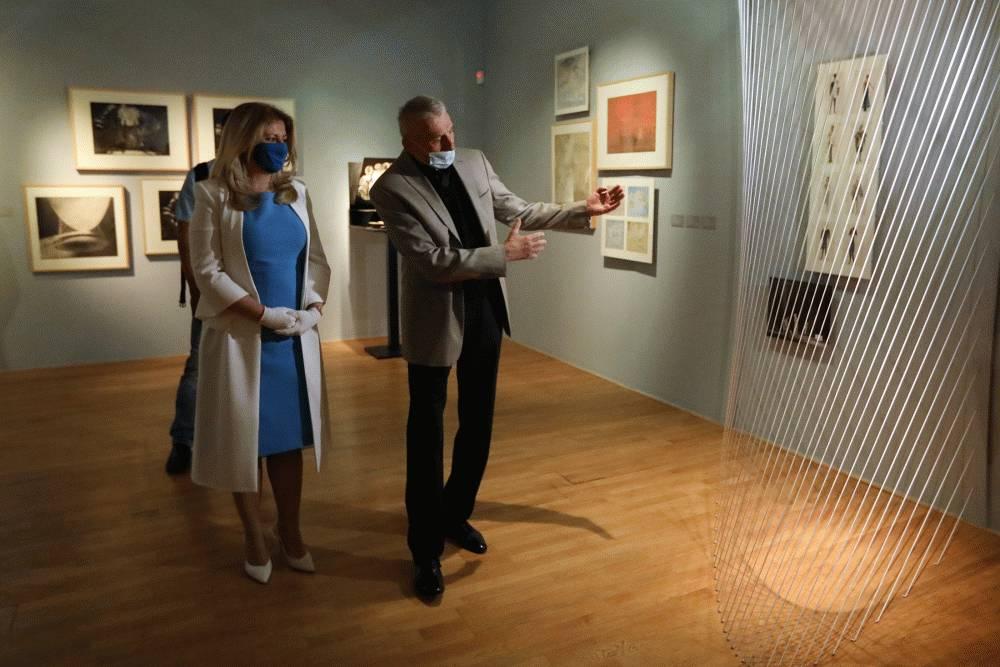 Prezidentka navštívila SNG, vyzvala na podporu kultúry
