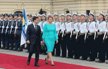Prezidentka na Ukrajine: Sme za obhajobu vašej suverenity