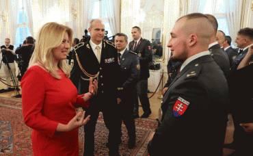 Prezidentka ocenila prácu policajtov, hasičov a záchranárov