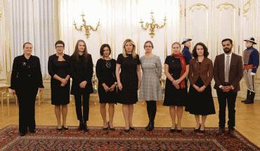 Prezidentka prijala zástupkyne a zástupcu mimovládnych organizácií venujúcich sa násiliu na ženách a pomoci obetiam násilia