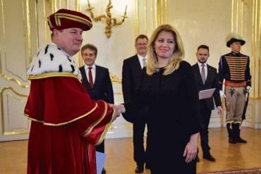 Prezidentka vymenovala rektorov vysokých škôl