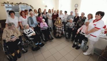 Prezidentka navštívila zariadenia pre seniorov