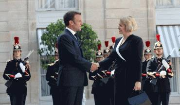 Macron on the President: A symbol of a united Europe