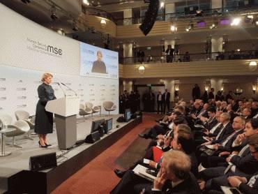 Prezidentka vystúpila s prejavom na Mníchovskej bezpečnostnej konferencii