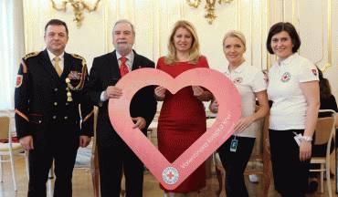 Valentínska kvapka krvi v Prezidentskom paláci