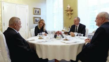 Prezidentka pozvala bývalých prezidentov na novoročný obed