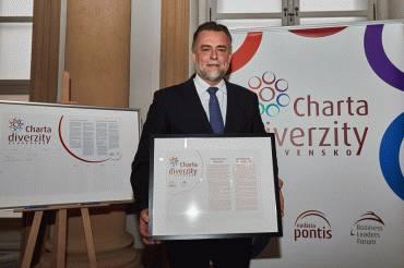 Kancelária prezidenta SR sa pridala ku Charte diverzity