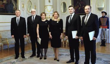 Prezidentka odovzdala poverovacie listiny novým veľvyslancom