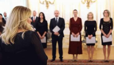 Prezidentka novým sudcom: Ste súčasťou nádeje, ktorú chceme v justícii