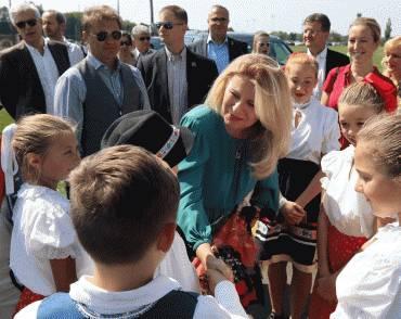 Prezidentka navštívila Festival slovenského dedičstva v New Jersey