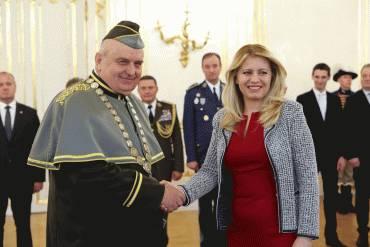 Prezidentka vymenovala rektora Akadémie ozbrojených síl