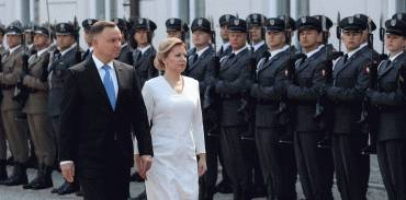 President in Poland: NATO needs unity as regards relations with Russia