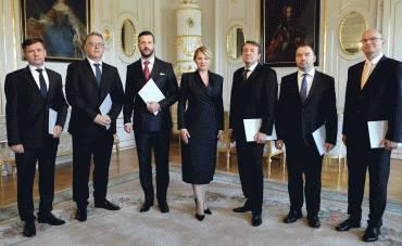 Prezidentka vymenovala nových sudcov Ústavného súdu SR