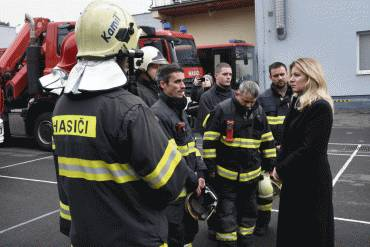 Prezidentka ocenila vlnu solidarity po tragédii v Prešove