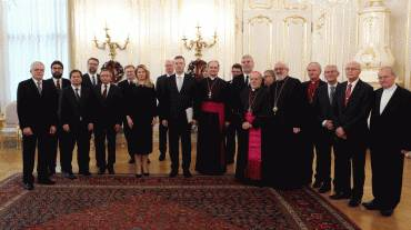 Prezidentka prijala predstaviteľov cirkví a náboženských spoločností