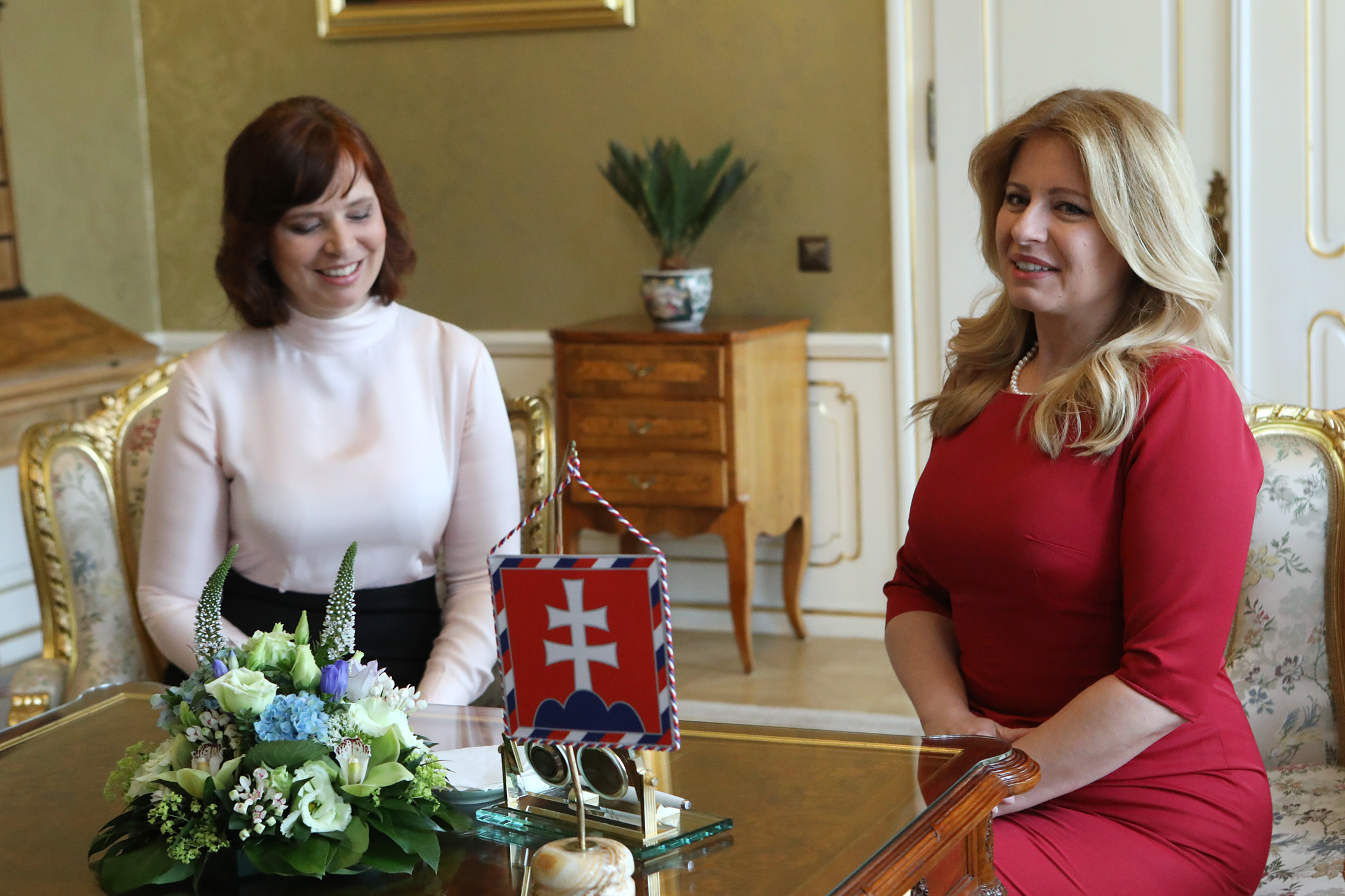 Prezidentka sa stretla s podpredsedníčkou vlády Veronikou Remišovou