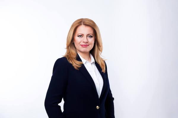 Official photo - president Zuzana Čaputová
